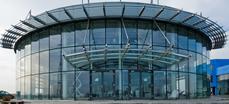 Козирка от неръждаема стомана и триплекс(стъкло) Дженеръс Ауто, Бургас