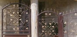 Парапети от ковано желязо