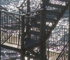 Аварийна стълба на хотел Флагман